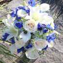 130x130 sq 1459656796263 bb0849 deep blue and white bouquet
