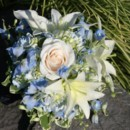 130x130 sq 1459656807143 bb0850 light blue and white bouquet