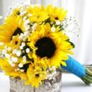 130x130 sq 1459657053602 bb0888 sunflower and babys breath bouquet