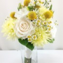 130x130 sq 1459657067433 bb0902 soft yellow and ivory bridesmaids bouquet