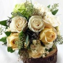 130x130 sq 1459657076390 bb1011 gold and ivory brides bouquet4