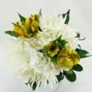 130x130 sq 1459657095815 white spider mum bridesmaids bouquet