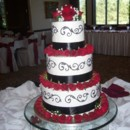 130x130 sq 1385347030349 rose wedding cak