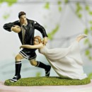 130x130 sq 1420311005982 cake top rugby 9016 rugby couple figurine   copy