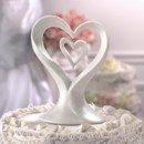 130x130 sq 1420311141576 heart inside heart cake topper   copy