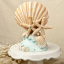 130x130 sq 1422402085625 starfish  shells cake topper
