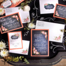 130x130 sq 1463151852029 vintage chalkboardweddinginvitationcbwa01
