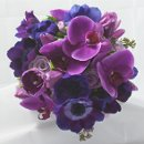 130x130 sq 1313437915621 purplelavendergreenbouquettop