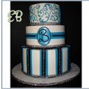 130x130 sq 1359565543575 weddingcake2873