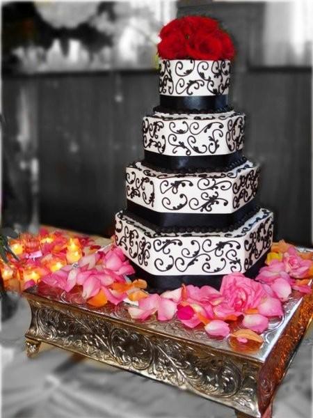 Cakes By Stephanie Wedding Cake Monroe Mi Weddingwire Watermelon Wallpaper Rainbow Find Free HD for Desktop [freshlhys.tk]