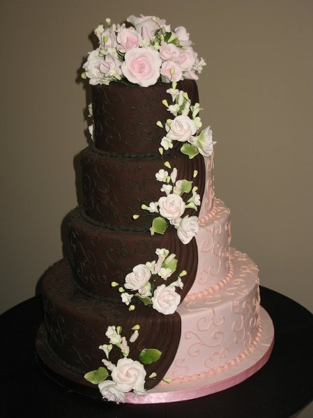 brown wedding cake cheesecake etc wedding cake carolina 12195