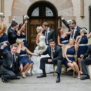 130x130 sq 1381878137462 wedding party posed excited