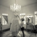 130x130 sq 1381880510748 bride with dress on chandelier