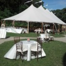 130x130 sq 1384791239886 lyman sailcloth tent with cocktail tables in the f