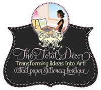 The Total Decor ~ Customized Stationery, Graphic Design & Printing