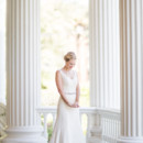 Classic style and a romantic simplicity with this Napa Valley bride