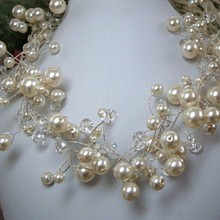 220x220 sq 1312346370292 pearlandcrystalbridalnecklace