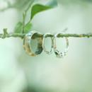 130x130 sq 1381379923691 green white emerald wedding ring