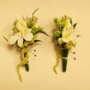 130x130 sq 1381379945777 green white wedding boutonniere
