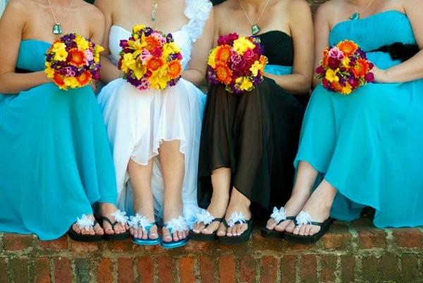 Dark Blue And Yellow Wedding: Black Blue Orange Pink Purple Red Yellow Bouquet Summer