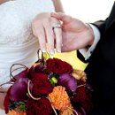 photography wedding fall bouquet ring