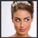 130x130 sq 1298155325150 bridalweddinghairstylemakeup110