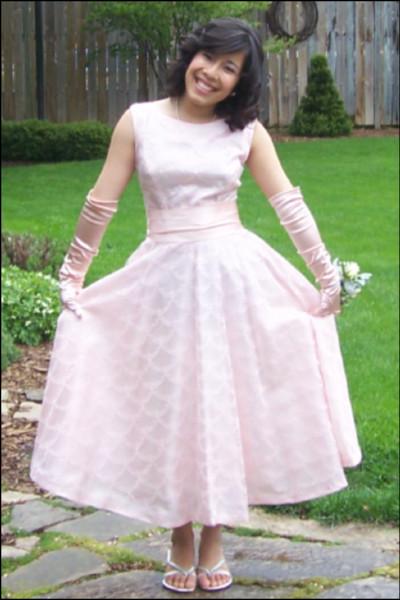 600x600 1392333567623 alicia   pink 50s dress
