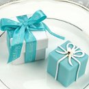 Tiffany Blue Box Candle Favors