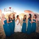 130x130 sq 1340734832838 bridesmaidswithparasolumbrellasinstyleeventplanningsandiegoweddingplannercopy