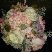 220x220 sq 1507925975744 carnival inspired bouquet with rock candy 4