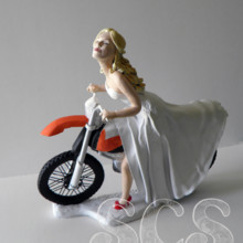 Sophie Cartier Sculpture, Custom Wedding Cake Topper - Unique ...