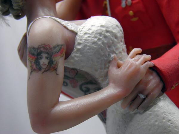 Sophie Cartier Sculpture Custom Wedding Cake Topper
