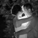 130x130 sq 1467339208 5f6c8ed3373cc916 black and white photograph of a bride and groom at night