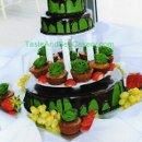 130x130 sq 1300946844479 fruittoppedweddingcake