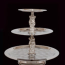 130x130 sq 1404937006288 tray silver with silver decor 3 tier