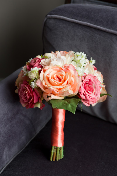 1454638010929 Kelly Coral Wedding Bouquet Wayne wedding florist
