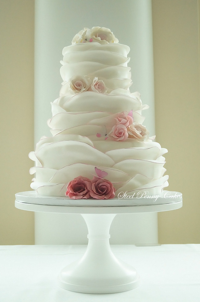 Steel Penny Cakes - Wedding Cake - Mount Pleasant, PA ...
