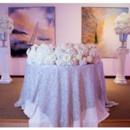 130x130 sq 1490378594170 cake tablelarge white flowers