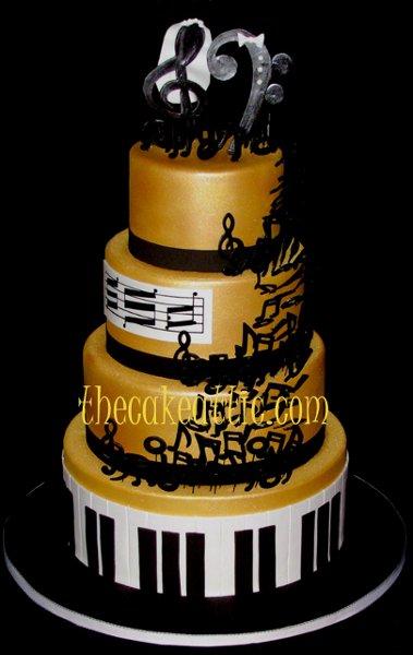 High School Musical Cake Topper