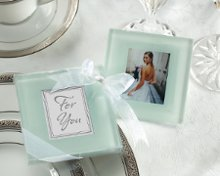 Forever Photo Glass Coaster