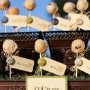 Pie Pops.. perfect for after dinner sweets or as a escort card shown here.