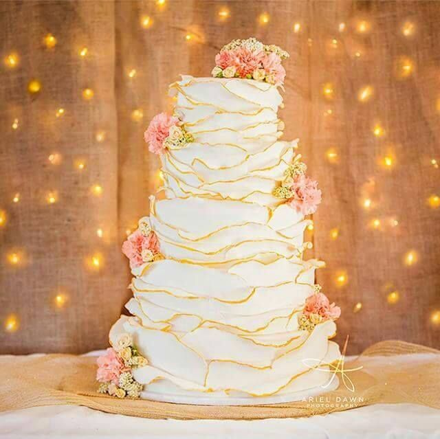 4 Wedding Cakes That Broke The Bank: Crooked Tree Coffee And Cakes