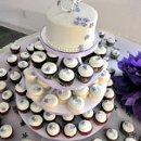 130x130 sq 1340834714672 cupcaketowerpurpleandgreen