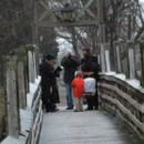 130x130 sq 1389915683484 elopement spring lake park bridge in the sno