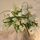 130x130 sq 1302195254259 lilyofthevalleyweddingbouquetfloralroundaboute1