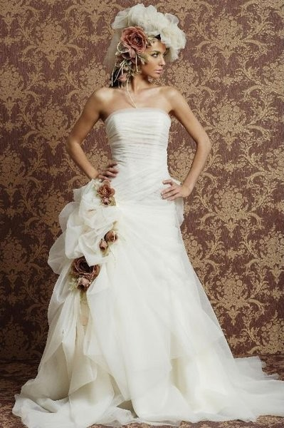Melina cristina bridal couture dress attire for Wedding dresses in houston texas
