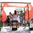 130x130 sq 1333933489332 beachweddingceremonycanopy