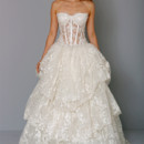 Sweetheart Ball Gown in Beaded Lace This ball gown features a sweetheart neckline with a natural waist in beaded lace. It has a chapel train. This gown is Exclusive to Kleinfeld Bridal. Style Number:32659948