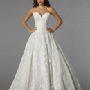 Danielle Caprese for Kleinfeld Style 113066  <br /> Off White, lace ball gown