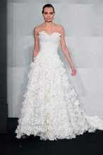 MARK ZUNINO Sweetheart Princess Ball Gown in Chantilly Lace
